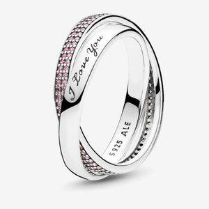 🍓Pandora Sweet Promise Ring, Pink CZ